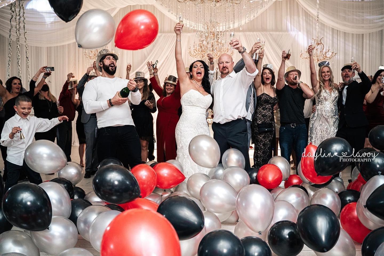 Levenue Brandon Wedding toast