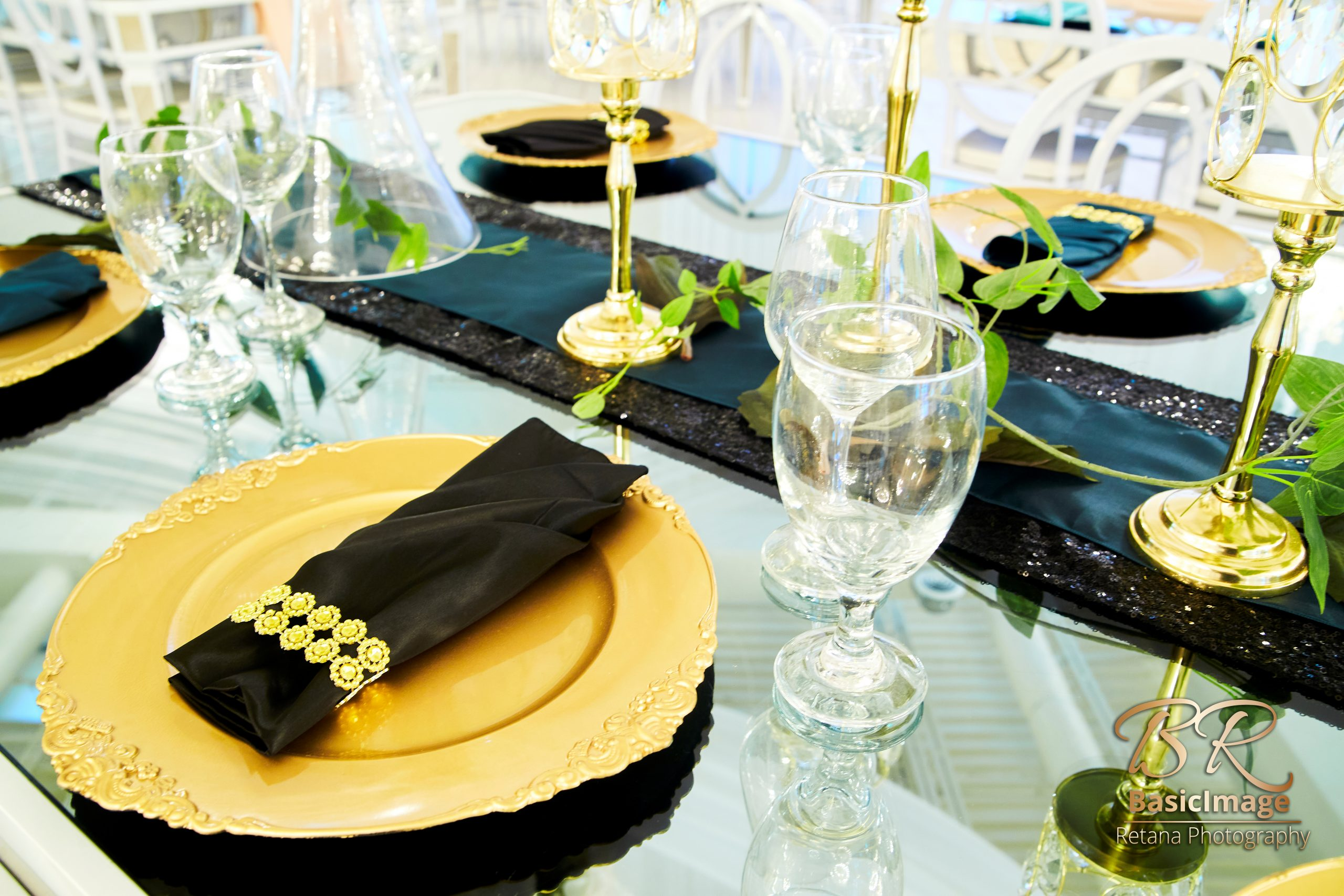 LeVenue dining and table decor. close up