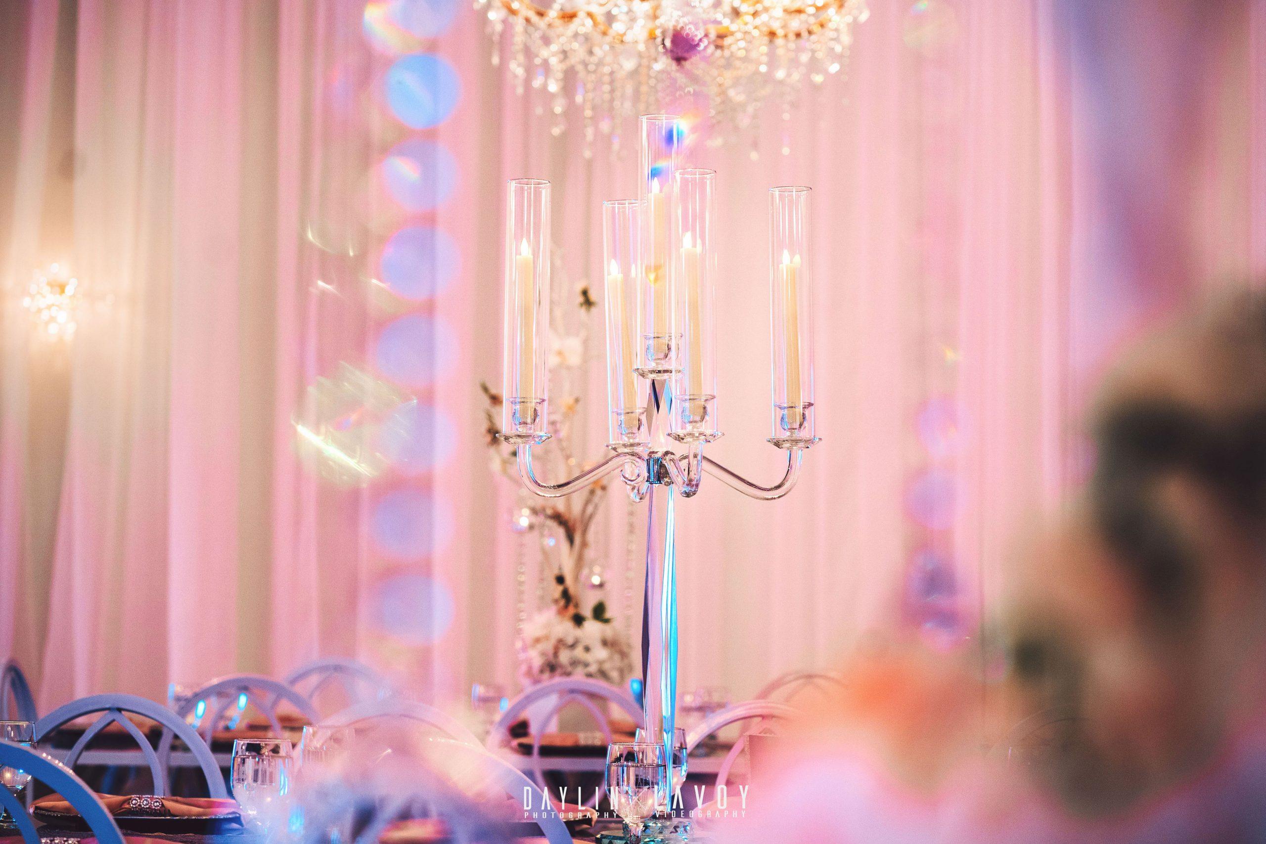 LeVenue Quinceañera table decor
